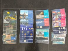The Netherlands, Netherlands Antilles and Aruba - Batch of Year Sets 1982/2011 (36 pieces)