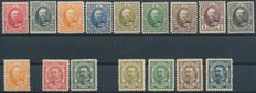 Luxembourg - 1891/1953, collection on stock cards between Michel 57/510.