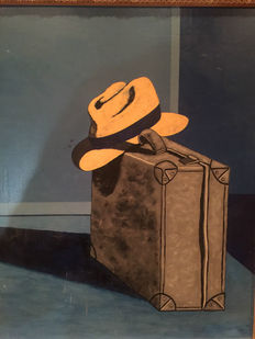 Unknown artist - Bag and Hat