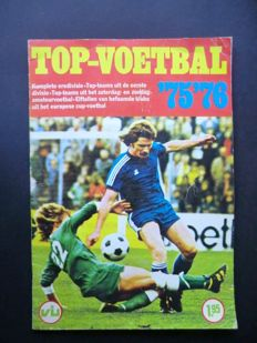 Variant of Panini - VanderHout - Top Voetbal 75/76 - Complete album - in good condition.