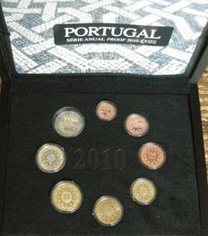 Portugal – Year set 2010 Proof