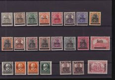 German Saar region 1920/1935 - collection