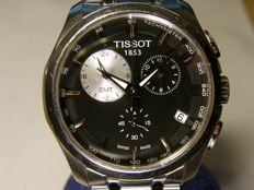 tissot  couturier GMT chronograph - men's wristwatch -   T035.439.11.051.00