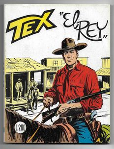 Tex, giant album no. 60, original, 1st edition - (1965)