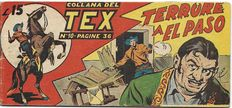 Collana del Tex - 1st series, strip no. 10, original - (1948)