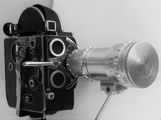 Bolex H16 film camera with lens Pan Cinor
