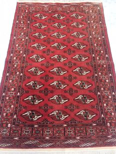 Very fine Bouchara/Buchara rug - made in the middle of the 20th century, 125 x 190 cm - from 1€