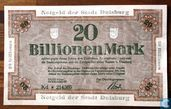Duisburg 20 Billion Mark 1923
