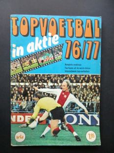 Variant of Panini - VanderHout Top Voetbal in aktie 76/77 - Complete album - Good condition.