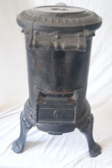 Potbelly stove - war heater from the 20th century - 1940-1945