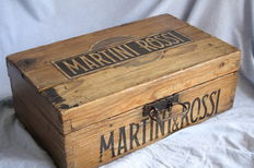 Martin & Raj old wood box-first half of the 1900s.