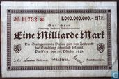 Passau 1 Billion Mark 1923