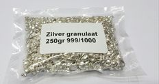 250 grams of silver granules