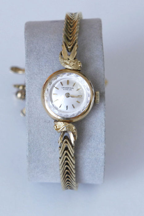 Universal Geneve – Old wristwatch in 18 kt yellow gold