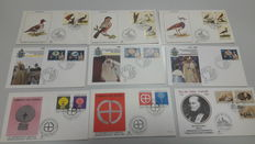 Vatican City. 1997 / 1989. 167 envelopes FDC. Italian Republic. Postcards FDC  (1963 / 1969).