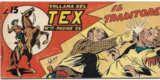 Collana del Tex - 1st series, strip no. 49, original - (1949)