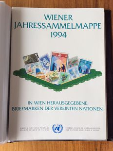 Europe - Collection United Nations Geneva and Vienna with selection of Austria and Liechtenstein