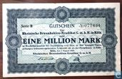 Köln 1 Million Mark 1923