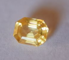Sapphire -Yellow- 3.45 carats