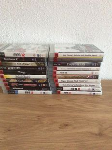 Lot of 20 ps3 games