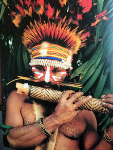 3 books about Papua New Guinea artsist: Kauage and many others