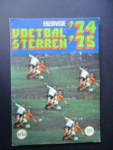 Variant of Panini - VanderHout -  Voetbalsterren Eredivisie - 1974/1975 - Complete album - in good condition.