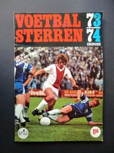 Variant of Panini - VanderHout -  Voetbalsterren Eredivisie - 1973/1974 - Complete album - Beautiful condition.
