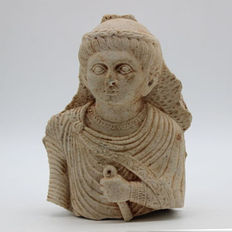 Parthian Marble Bust of a Nobleman - 130 mm