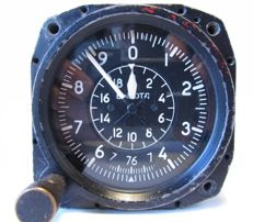Original Russian( СССР/USSR ) altimeter - barometerfor the supersonic fighters MiG-29.