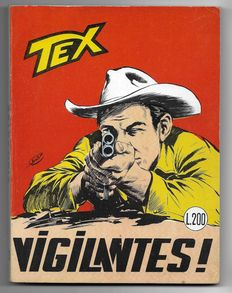 Tex, giant album no. 63, original, 1st edition - (1966)