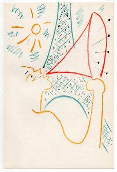 Jean Cocteau (after) - Personnage