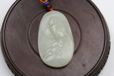 A Buddism godness Guanyin are Carved with nephrite - China - 21st century