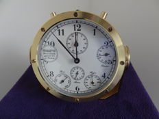 Exclusive Ship Chronometre Fabr. Wempe 6 scales. Captains Yachtmaster.