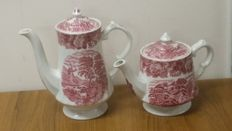 Enoch Woods - Porcelain tea and coffee pots
