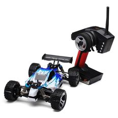 Radio-controlled car Wltoys A959 1/18 scale - 4X4 - 50 km/h - Waterproof