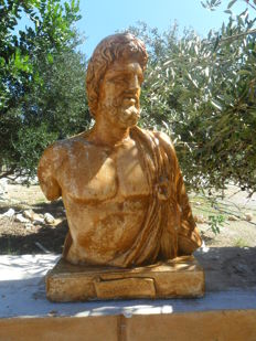Statue of Asclepius, 20th century