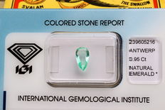 Emerald - 0.95ct - No Reserve Price
