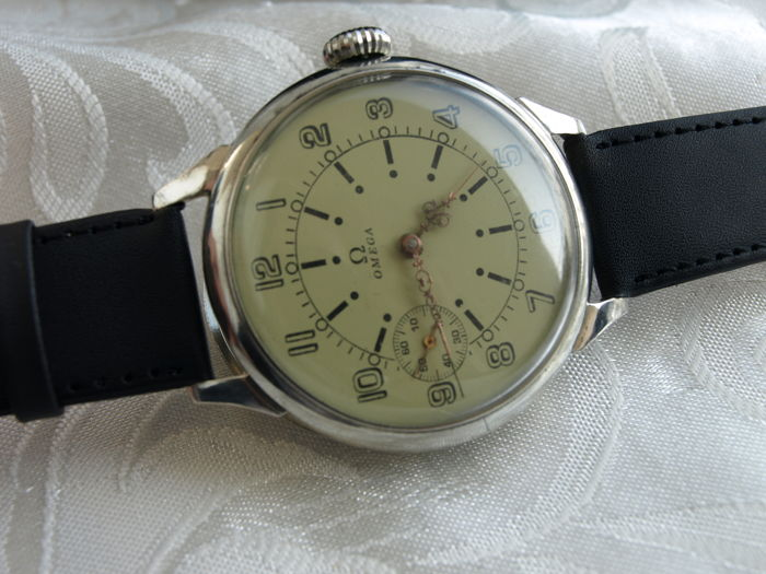 42 Omega - men's marriage wristwatch - 1923-1929