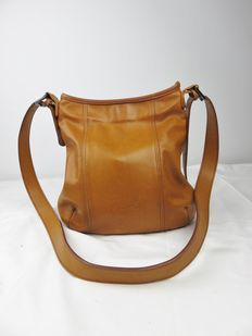 Natan camel brown shoulder bag