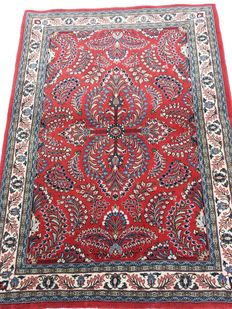 Gorgeous Persian Saruk carpet – Wool – Lilihan pattern – 154 x 111 cm – New, no one stepped on it. Excellent condition!!! Starting from €1, no reserve price!!!