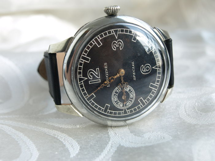 29 Longines Special men's wristwatch 1934-1937