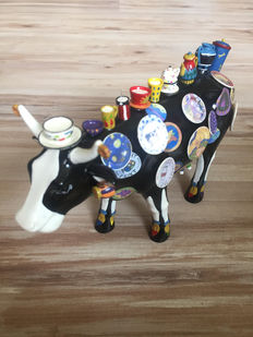 Meredith McCord for CowParade - Moo Potter - Medium - Retired and very rare