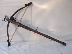 """Replica"" medieval crossbow, used in many major motion pictures and in William Tell"