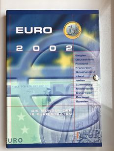 Europa - 12 Sets Euro, 12 countries, in album