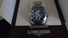 Men's watch, Longines Hydro Conquest chronograph, full set