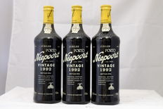 1992 Vintage Port Niepoort – 3 bottles