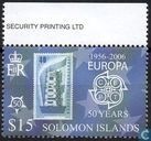 50 years of the Europa stamp