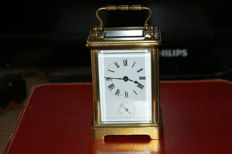 Carriage clock – 19th century – Brass