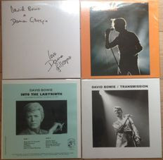 David Bowie II Four LP's II Great collection