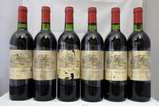 1981 Chateau Magdelaine, Saint-Emilion Grand Cru Classe, France, 6 Bottles.